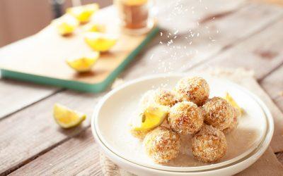 Raw Lemon Balls