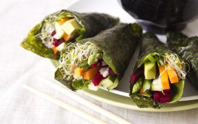 Veggie Snack Wraps